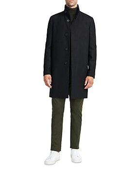 Theory - Belvin Regular Fit Traceable Wool Blend Coat
