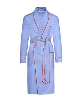 Paul Stuart - Classic Cotton Herringbone Robe