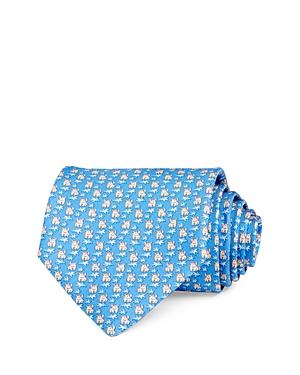Salvatore Ferragamo Rhinoceros Silk Classic Necktie-Men