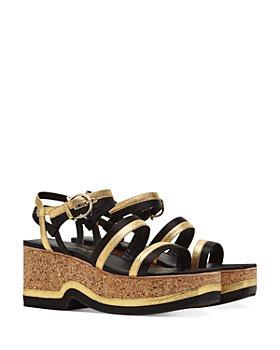 Salvatore Ferragamo - Women's Strappy Platform Sandals