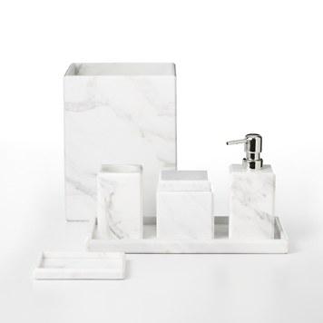 Waterworks studio white marble bath accessories bloomingdales