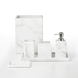 Waterworks Studio White Marble Soap Dish