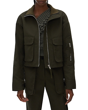 Helmut Lang CANVAS BOMBER JACKET