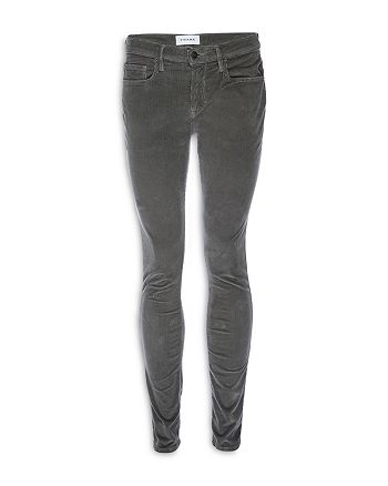 FRAME - L'Homme Slim Fit Corduroy Jeans in Lily Pad