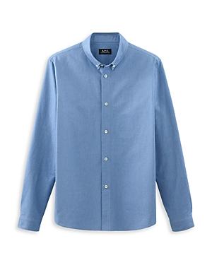 A.p.c. Chemise Slim Fit Button-Down Shirt