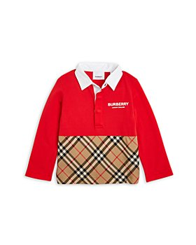 Burberry - Boys' Mini Quentin Rugby Shirt - Baby