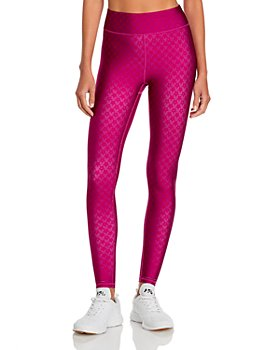 Terez - Magenta Star Leggings