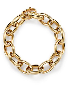 Alberto Amati - 14K Yellow Gold Chain Link Bracelet - 100% Exclusive