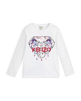 Kenzo - Girls' Logo Tee - Little Kid, Big Kid