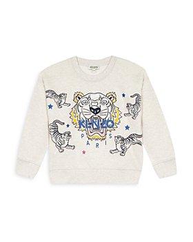Kenzo - Girls' Tiger Logo Sweatshirt - Little Kid