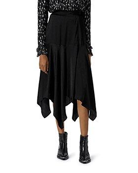 The Kooples - Wrap Midi Skirt