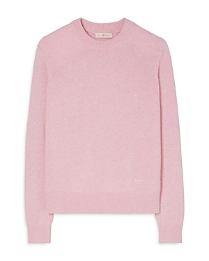 Tory Burch SEQUINED TRIM CASHMERE SWEATER