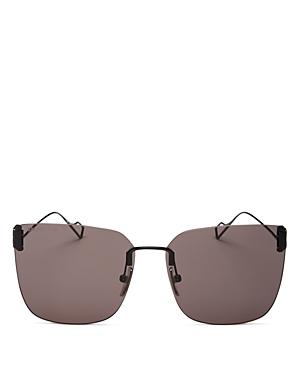 Balenciaga Women\\\'s Square Rimlesss Sunglasses, 62mm-Jewelry & Accessories