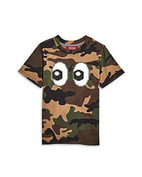 8-Bit by Mostly Heard Rarely Seen - Boy's Eyez Camo Tee - Little Kid, Big Kid