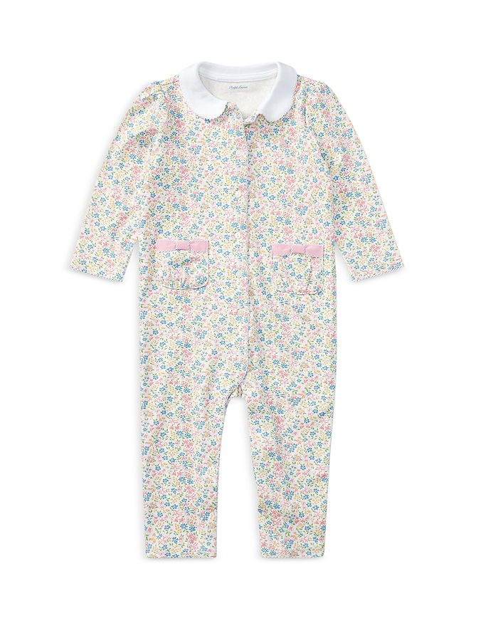 Ralph Lauren - Girls' Floral Coverall - Baby