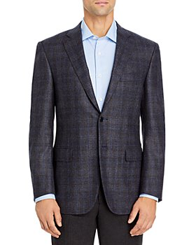 Canali - Siena Brushed Plaid Classic Fit Sport Coat