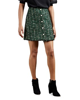 Ted Baker - Tweed Mini Skirt