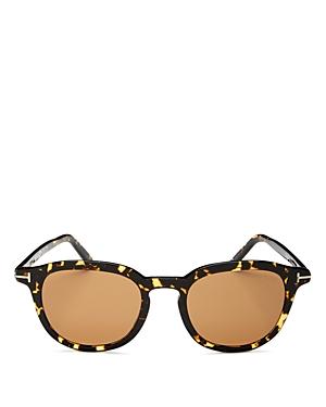 Tom Ford Men's Round Sunglasses, 51mm