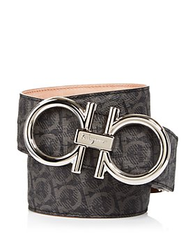 Salvatore Ferragamo - Men's Oversized Double Gancini Belt