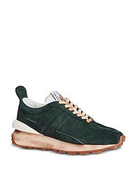 Lanvin - Women's Bumper Suede Running Sneakers