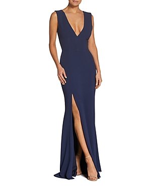 Dress the Population Sandra Plunging Gown-Women
