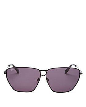 Salvatore Ferragamo - Women's Square Sunglasses, 63mm