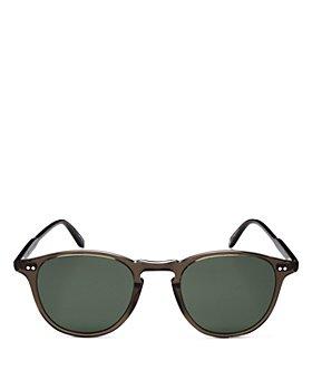 GARRETT LEIGHT - Unisex Round Sunglasses, 46mm