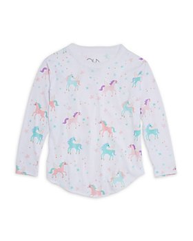 CHASER - Girls' Printed Long Sleeve Tee - Little Kid