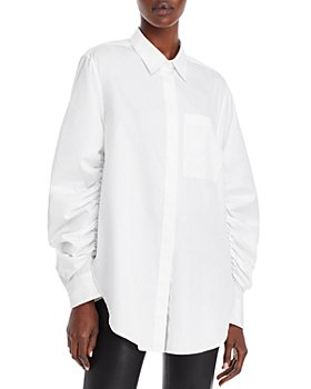 3.1 Phillip Lim - Ruched Sleeve Shirt