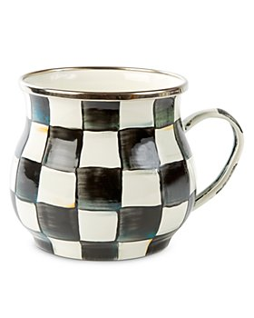 Mackenzie-Childs - Courtly Check Enamel Mug
