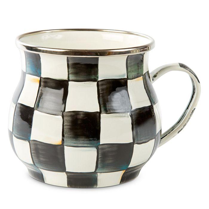 Mackenzie-Childs - Courtly Check Enamel Mug