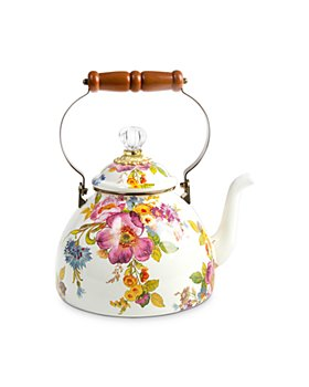 Mackenzie-Childs - Flower Market 3-Quart Tea Kettle