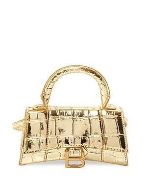 Balenciaga Hourglass Mini Top Handle Bag-Handbags