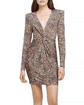 L'AGENCE - Mariah Twist Front Mini Dress