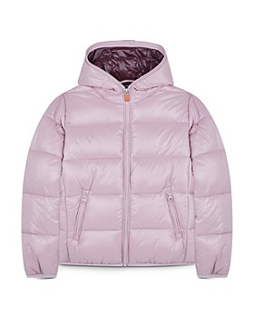 Save The Duck - Girls' Luck Hooded Puffer Jacket - Little Kid, Big Kid
