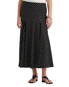 Ralph Lauren - Polka Dot A Line Skirt