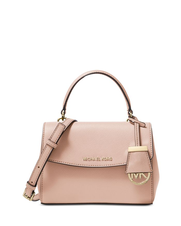 MICHAEL Michael Kors Ava Extra Small Leather Crossbody  | Bloomingdale's