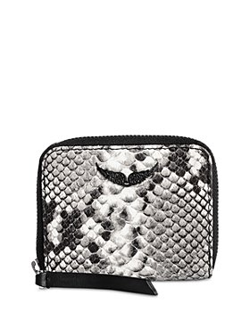 Zadig & Voltaire - Mini Wild Leather Card Holder Pouch