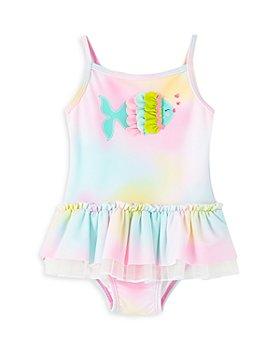 Little Me - Girls' Fish Tutu Swimsuit - Baby