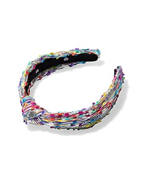 Lele Sadoughi - Girls' Metallic Confetti Headband