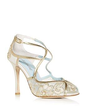 Bella Belle - Women's Tess Lace High Heel Sandals