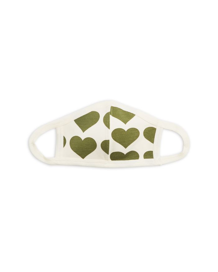 Pink Chicken Unisex Heart Print Organic Face Mask  | Bloomingdale's
