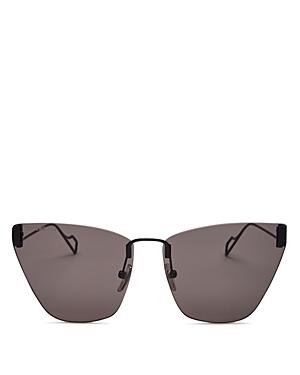 Balenciaga Women\\\'s Rimless Cat Eye Sunglasses, 63mm-Jewelry & Accessories