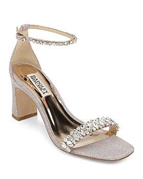 Badgley Mischka - Women's Harriet Embellished High Heel Sandals