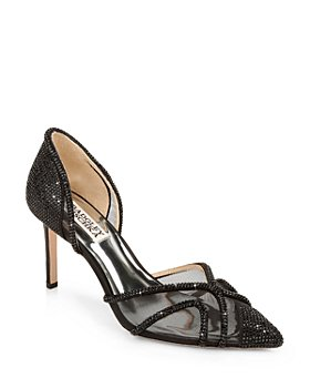 Badgley Mischka - Women's Haze Slip On Pointed Pumps