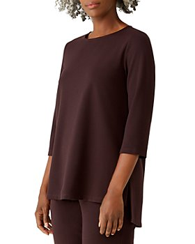 Eileen Fisher Petites - Boxy High-Low Top