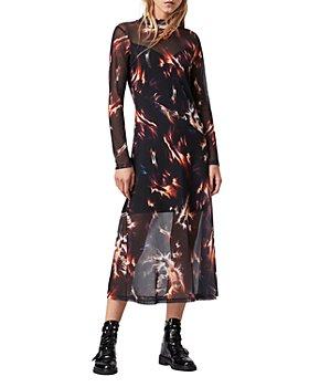 ALLSAINTS - Hanna Flame Print Dress