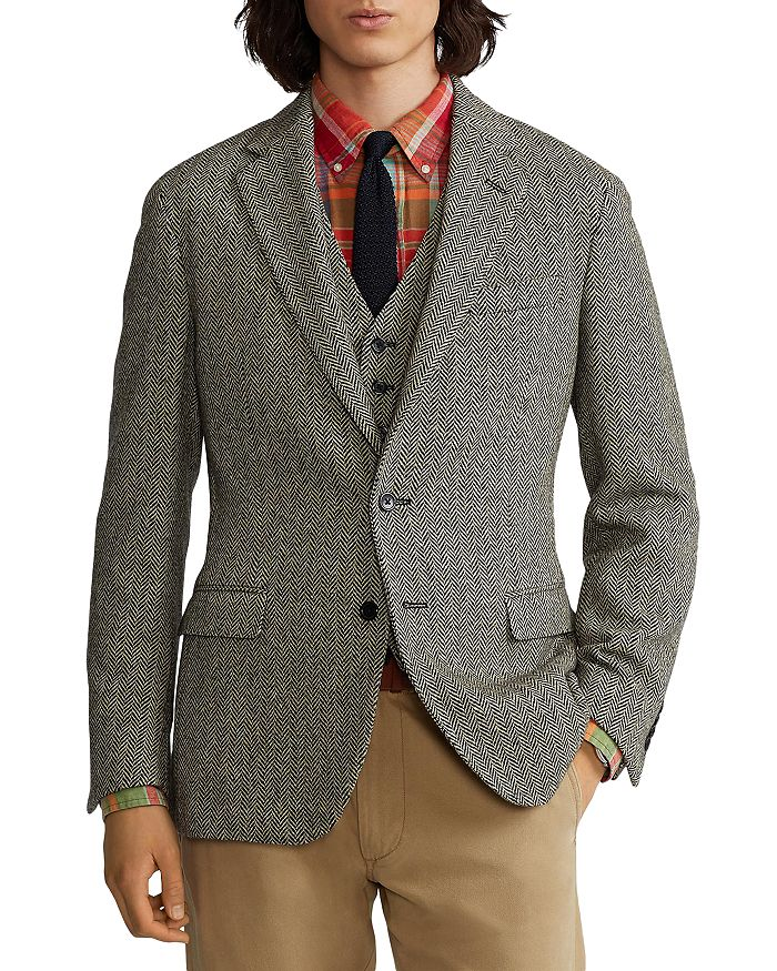 Polo Ralph Lauren - Soft Herringbone Sport Coat