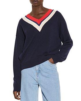 Sandro - Torsy Striped Sweater