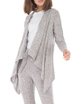 B Collection by Bobeau - Amie Drape Front Cardigan